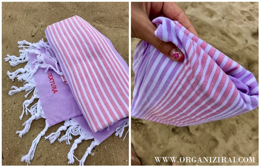 textura-bulgaria-beach-towel-ultra-thin-whats-in-my-beach-bag-organizing-blog-bulgarian-blogger-summer-bag-organizirai.com
